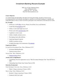 Back Office Banking Resume Sales Banking Lewesmr