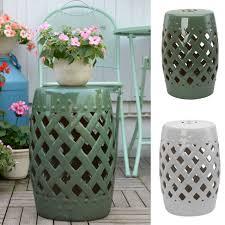 indoor outdoor white ceramic decor