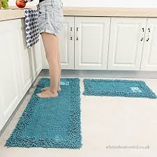 kkcftan kitchen mat carpet rugs strip water absorption non slip machine washable thick 10mm 7