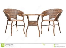 coffee table and chairs rattan coffee table set stock photo image of exotic 34487826