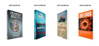 create a 3d mock up of your paperback book cover