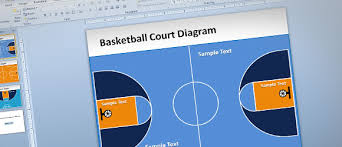 Basketball Powerpoint Template Free Basketball Court Powerpoint Template