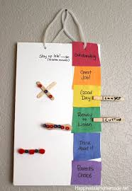 Color Behavior Chart For Preschool Printable Color Coded Behavior Chart Happiness Is Homemade