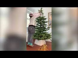to put lights on christmas tree