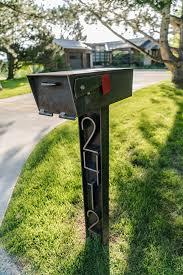 custom metal mailbox. Interesting Mailbox Custom Steel Mailbox Hand Forged Street Numbers On Metal Mailbox Stronghold Fabrication
