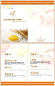 breakfast menu template 11 free sample breakfast menu templates printable samples