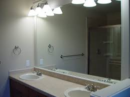 bathroom mirror. full size of bathrooms design:frameless bathroom mirrors cool mirror awesome framed vanity and lights large h