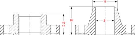 Dimensions 6b Flanges 3000 Psi Rated Working Pressure Api