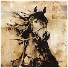 shadow rider horse canvas horse  on shadow rider horse canvas wall art with horse canvas wall art communiticash me