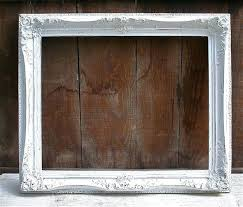 antique wood picture frames. Large Wooden Picture Frames Antique Wood White Distressed Frame By  For O