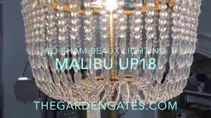 ro sham beaux malibu up18 chandelier