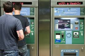 Vending Machines Los Angeles Cool Customers Purchasing Fares At Ticket Vending Machines TVM Flickr
