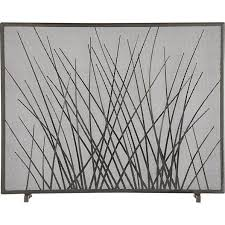 Modern Fireplace Screens Living Room Contemporary With Gray Linen Modern Fireplace Screens