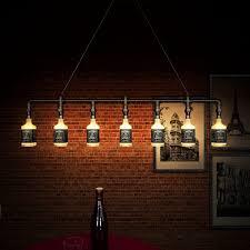 aliexpress com jack daniels glass beer bottle chandelier light fixture on modern home decoration lighting