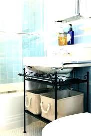 under cabinet organizer bathroom under pedestal sink storage cabinet under cabinet storage under sink pedestal storage