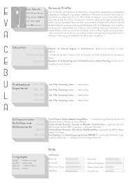 Resume Templates For Architects Najmlaemah Com