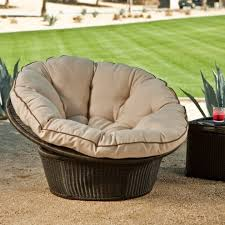 outstanding wicker lounge chair rattan papasan chair with cushion rattan giant wicker chair