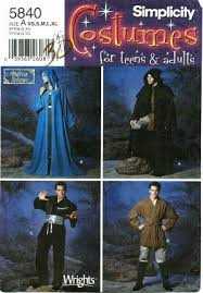 Star Wars Costume Patterns Fascinating Amazon Simplicity Sewing Pattern 48 Misses' Men's Teens