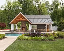 pool house ideas. Large Elegant Backyard Concrete Paver And Rectangular Lap Pool House Photo In DC Metro Ideas