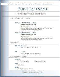 Resume Best Free Resume Templates 2014