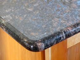 image of bullnose laminate countertop corner