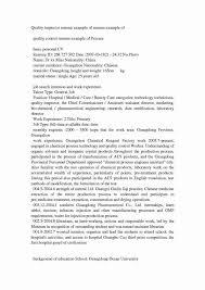 46 Original Quality Control Job Description Resume Br A47205