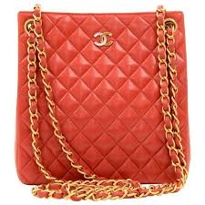 Chanel Paris Limited Red Quilted Leather Small Shoulder Tote Bag ... & Chanel Paris Limited Red Quilted Leather Small Shoulder Tote Bag 1 Adamdwight.com