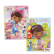 Wholesale Disney Doc Mcstuffins Coloring Book 2 Assorted Item 61221