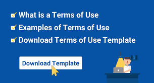 What Is Tamplate Sample Terms Of Use Template Termsfeed