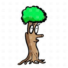 funny cartoon tree with face vector image vector artwork of plants and s dvarg to zoom