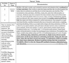 Sample Nursing Notes - Kleo.beachfix.co