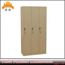 jas 026 china made manufacture 3 door metal bedroom furniture steel wardrobe china metal wardrobe metal school locker