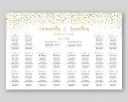 Personalized Printable Wedding Seating Chart Digital