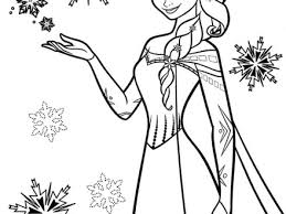 7 Coloring Pages For Kids Frozen Free Printable Frozen Coloring
