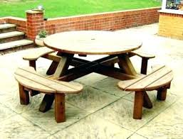 8 seat round picnic table large round picnic table with round picnic table and seat covers picnic table covers for winter