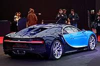 Bugatti claims that the chiron makes the dash from zero to 60 mph in a mere 2.3 seconds, and it has a top speed of 261 mph. Bugatti Chiron Wikipedia
