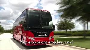 Inside Redcoach Florida Luxury Buses