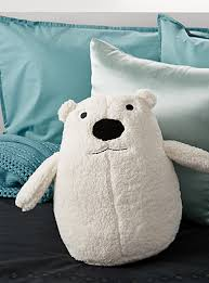 Small Picture Polar bear cushion Hiccups Shop Kids Home Decor Accessories