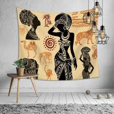 tapestry boho home decor mandala folk tapestries people pattern wall blanket fashion polyester tapestry wall hanging