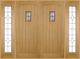 chesham double front doors with sidelights
