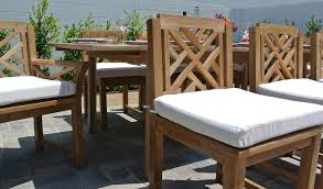 teak outdoor dining chairs. Teak Outdoor Dining Set With Expansion Table Chairs D
