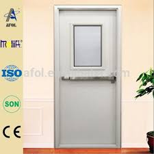 fire door with glass panel. zhejiang afol certificate fire rated steel door with vision glass panel, panel s