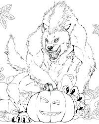 Monster Coloring Pages Really Scary Face Monster Coloring Pages High