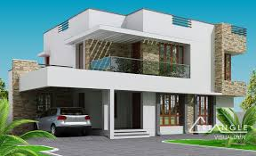 Modern Two Story House Plans  HouzzTwo Storey Modern House Designs