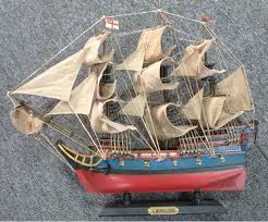 hms bellona pre painted starter boat kit build your own wooden model ship