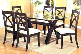 glass table and 4 chairs round glass dining table set for 4 dining table round glass