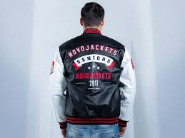 custom letterman jackets novo jackets seniors leather jacket