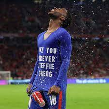 Raheem Sterling pelted with cups and ...
