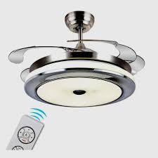 Einziehbarer Deckenventilator Mmynl Mit Beleuchtung Led Licht