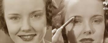 hollywood eyebrows 1930s makeup tutorial a